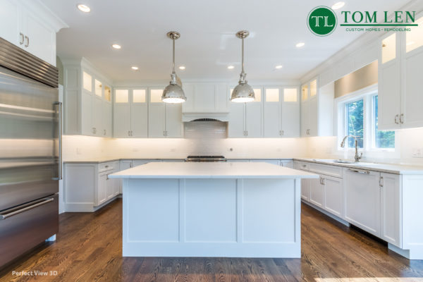 Tom Len Custom Homes - Chestnut - Northbrook